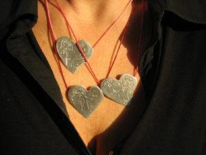13 foto 20 staand makenlijst van hartjes rondom
