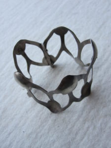 armband 'ik&jij' zilver